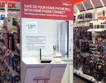 Radio Shack Home Phone Connect Endcap