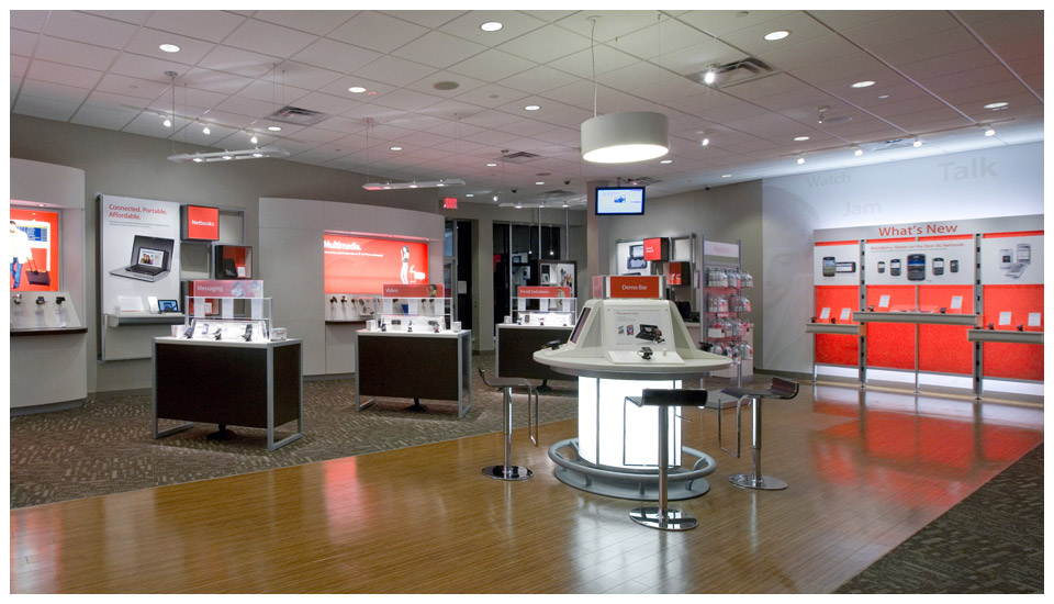 Verizon Wireless, LEED Mall Store - Wyoming 2