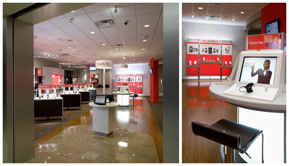 Verizon Wireless, LEED Mall Store - Wyoming 3