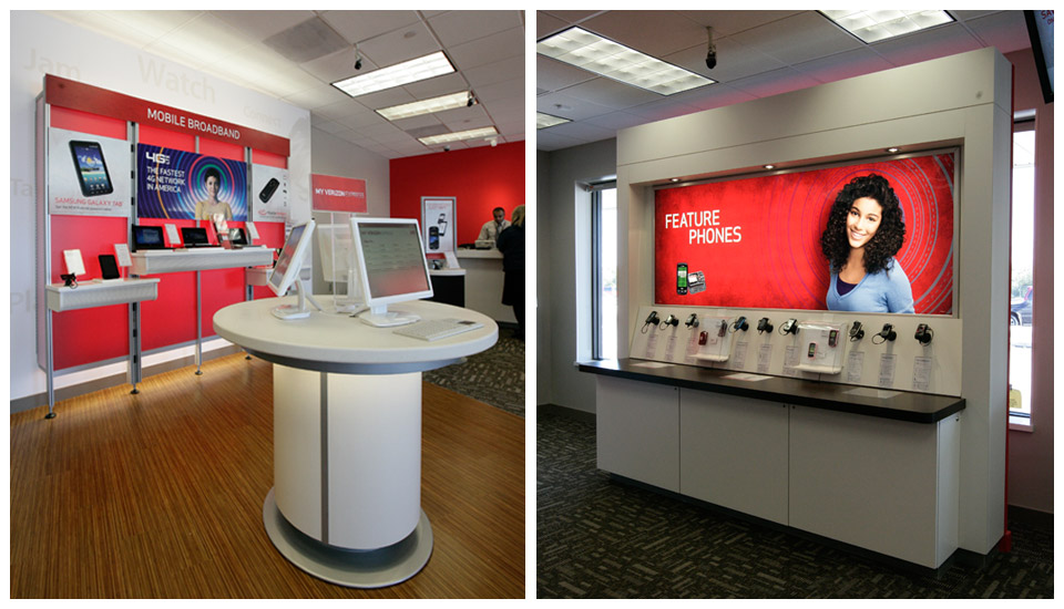 Verizon Wireless Store Fixtures 1