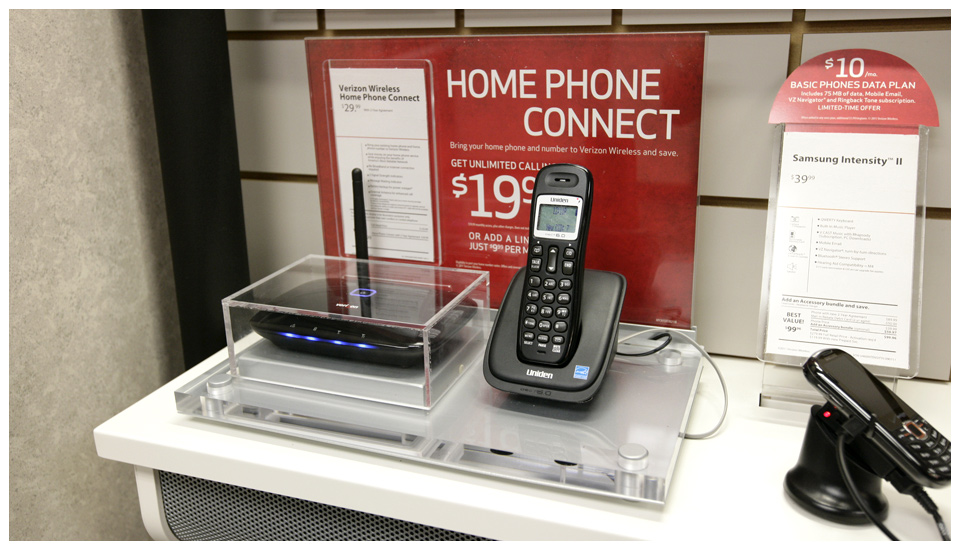 Verizon Wireless Home Phone Connect Display 2