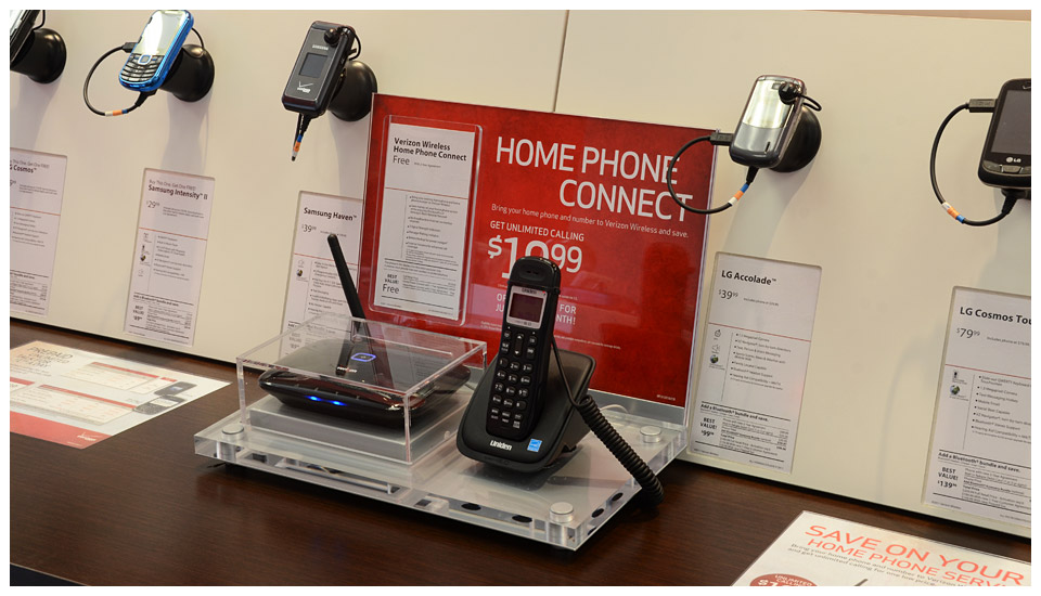 Verizon Wireless Home Phone Connect Display 1