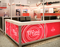 Verizon Wireless Tradeshow Booth