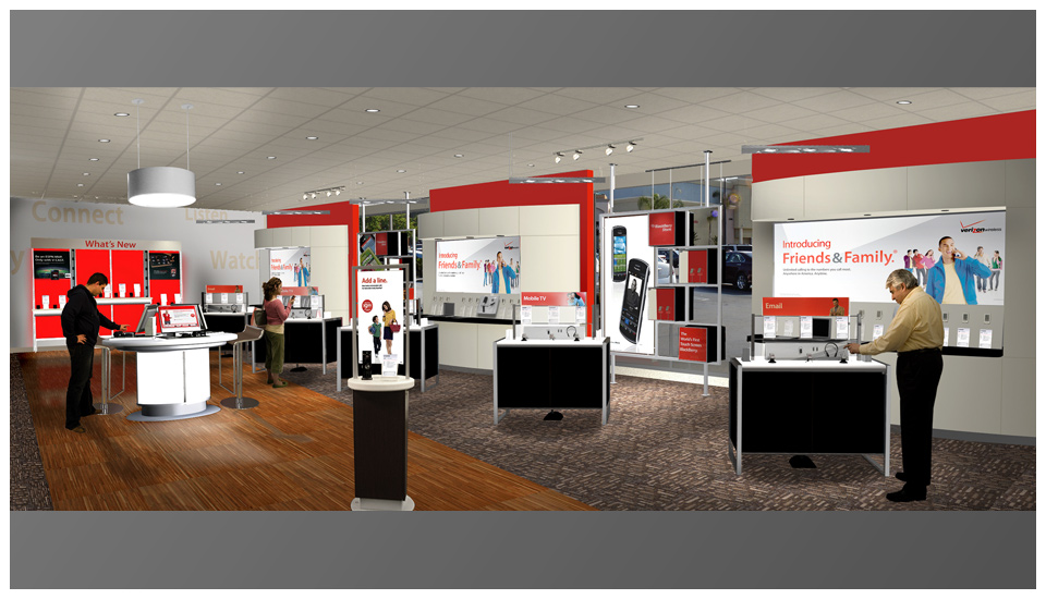 Verizon Wireless - Retail Renders 1