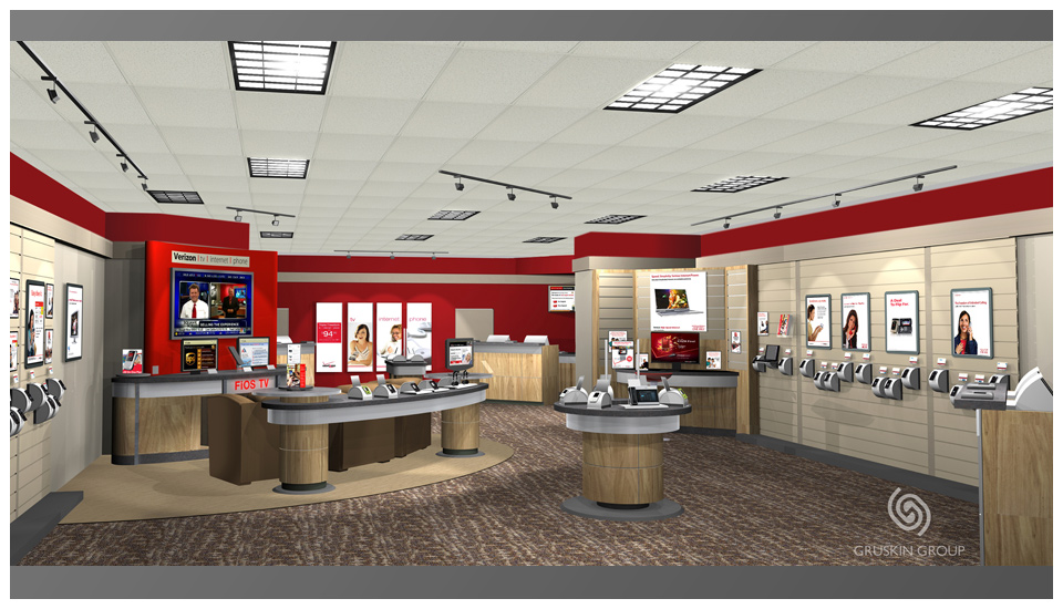Verizon Wireless - Retail Renders 2