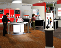 Verizon Wireless - Retail Renders