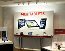 Verizon Wireless Tablet Display