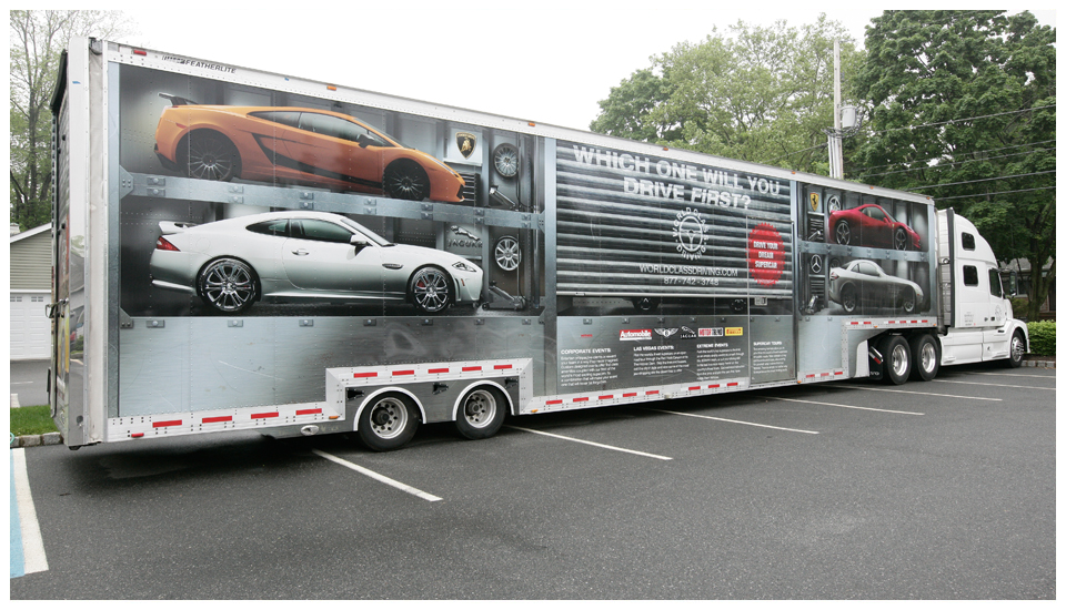 World Class Driving Truck Wrap 1