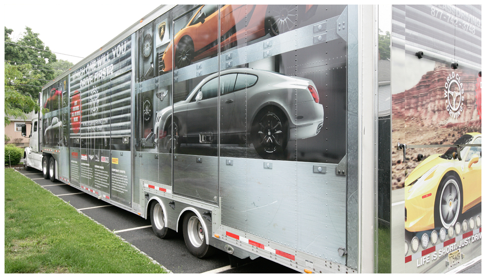 World Class Driving Truck Wrap 3